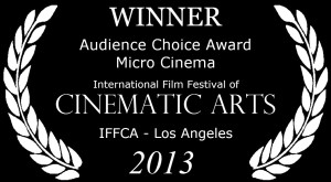 Award Laurel Audience Choice Micro Cinema